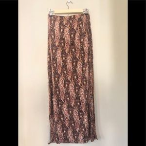 American Eagle Outfitters- Paisley Maxi Skirt